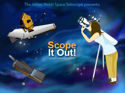 Scope It Out start screen