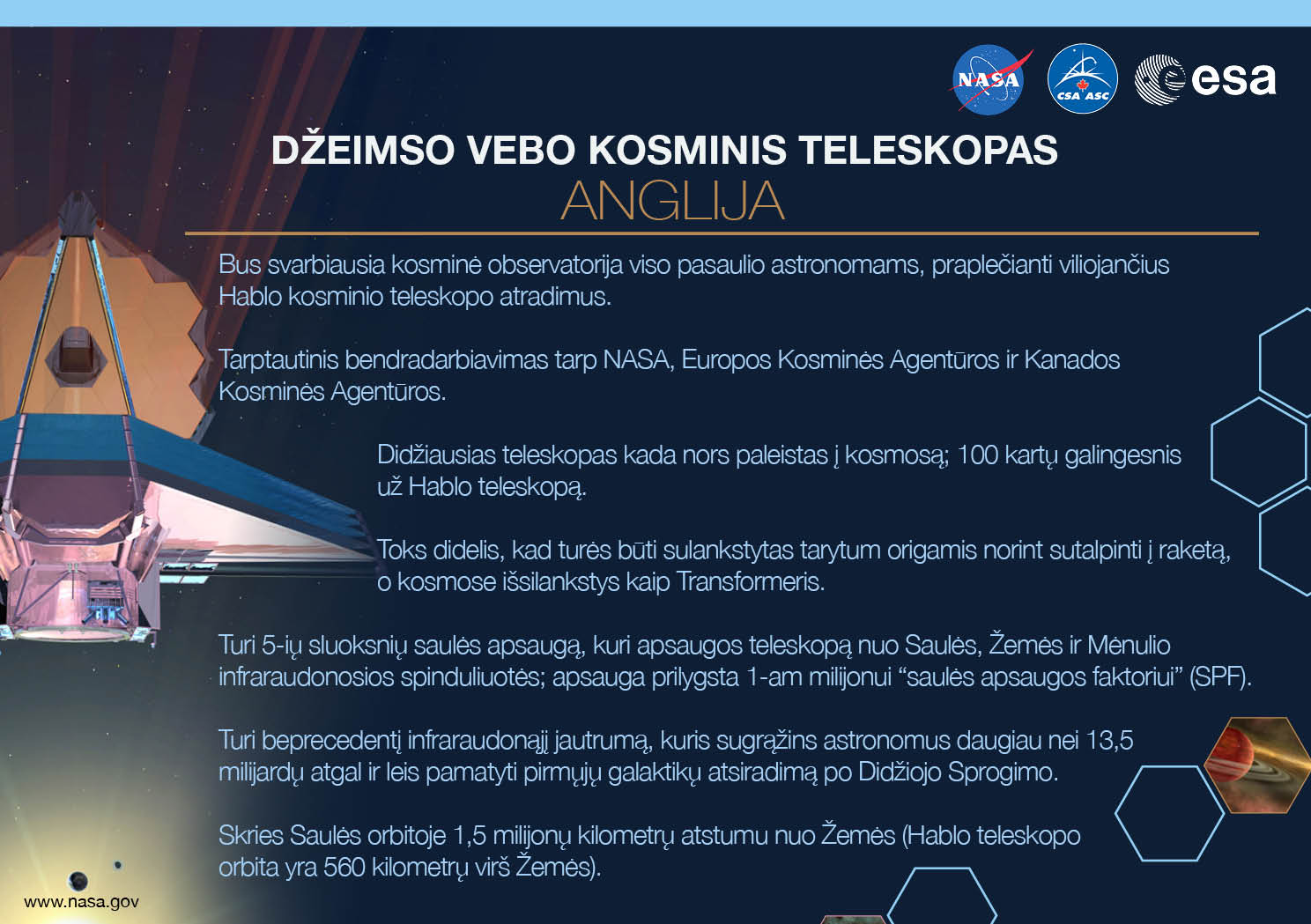 Key Facts International - NASA Webb