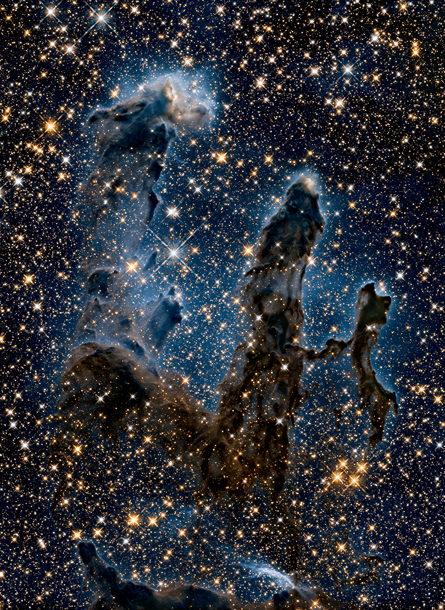 Pillars of Creation in IR